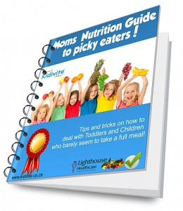Free eBook - Moms Nutrition to Picky Eaters